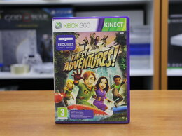 Игры для приставок и ПК - Kinect Adventures - Xbox 360 Б.У (Обмен), 0
