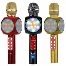 Микрофоны - Караоке-микрофон WSTER WS-1816 оригинал, 0