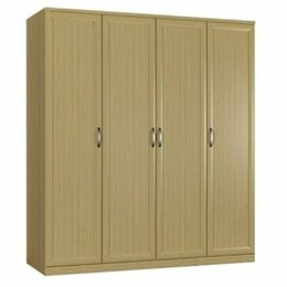 Шкафы, стенки, гарнитуры - Шкаф 4 дверный стелла в спальню, 0