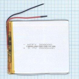 Аккумуляторы - Аккумулятор Li-Pol (батарея) 3*80*90мм 2pin…, 0