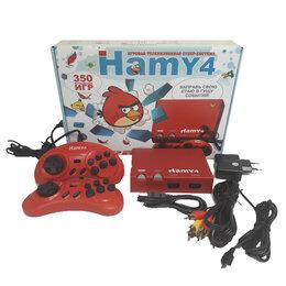 "DVD и Blu-ray плееры - Приставка 16bit - 8bit ""Hamy 4"" (350-in-1) Angrybirds Red, 0"