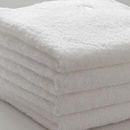 Постельное белье - Белые полотенца новые, 0