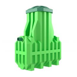 Фильтры, насосы и хлоргенераторы - Станция биологической очистки ERGOBOX 4S, 0