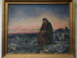"""Картины, постеры, гобелены, панно - КОПИЯ картины Крамского """"Христос в пустыне""""…, 0"""