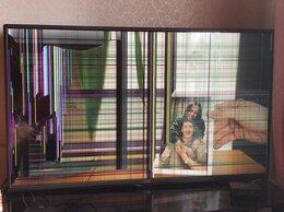 Телевизоры - Телевизор LG 42LB552V на запчасти рабочий, 0