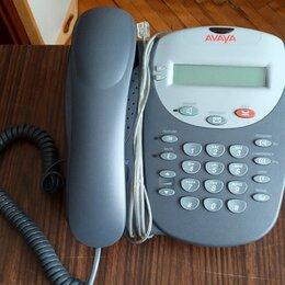 Проводные телефоны - Стационарный кнопочный телефон AVAYA 2402, 0
