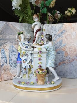 Статуэтки и фигурки - Фарфоровая статуэтка Германия, 0