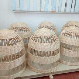 Люстры и потолочные светильники - Купить люстры абажуры плетеные, 0