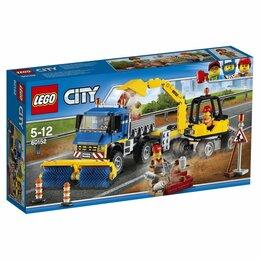 Конструкторы - LEGO CITY 60152 Уборочная техника, 0