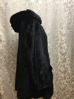 Шубы - Норковая шуба 44-46/80 см, 0