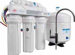Фильтры для воды и комплектующие - Фильтр для воды под мойку Atoll A-550 (патриот), 0