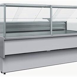 Холодильные витрины - Нейтральная витрина Полюс Carboma Bavaria 2 GC110 N 2,5-1 (с боковинами), 0