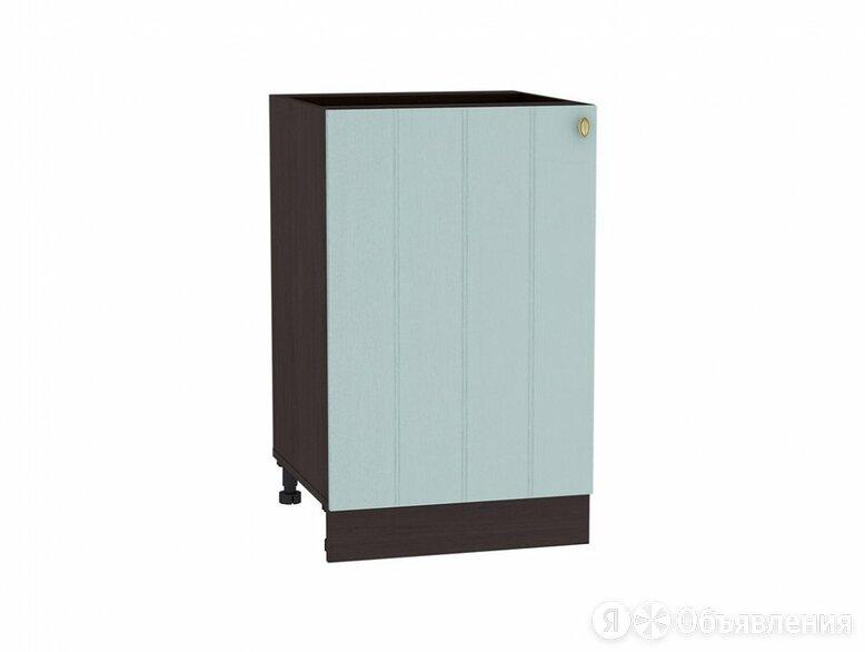 Шкаф нижний с 1-ой дверцей Прованс Н 500 Голубой-Венге по цене 3360₽ - Мебель для кухни, фото 0