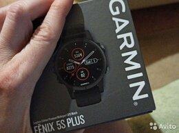 Умные часы и браслеты - Garmin Fenix 5s plus sapphire, 0