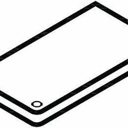 Элементы систем отопления - Панель верхняя для KPI (060-109766), 0