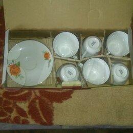 Кружки, блюдца и пары - чайный набор, 0