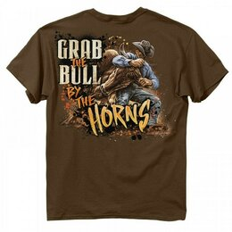 Футболки и майки - Футболка Buckwear Grab The Bull, 0