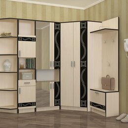 Шкафы, стенки, гарнитуры - Прихожая Лидер №120, 0