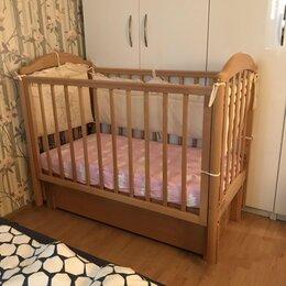 Кроватки - Детская кроватка Лель с маятником, 0