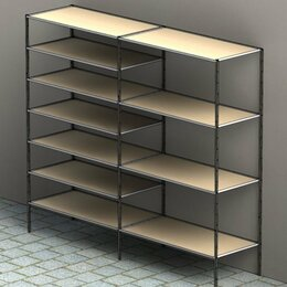 Стеллажи и этажерки - Стеллажи в стиле лофт, 0