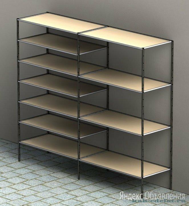 Стеллажи в стиле лофт по цене 15000₽ - Стеллажи и этажерки, фото 0