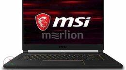 Ноутбуки - Ноутбук MSI GS65 Stealth 9SF-643RU, 0