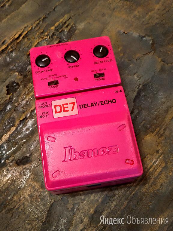 Юбилейная редкая педаль Ibanez DE7 25Th Anniversary Limited Edition по цене 15500₽ - Процессоры и педали эффектов, фото 0