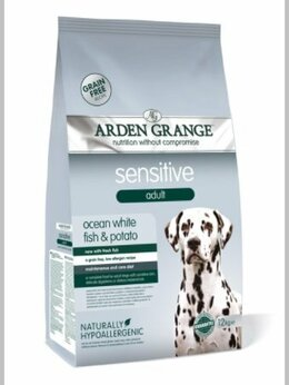 Корма  - Arden Grange GF Sensitive сухой корм для собак…, 0