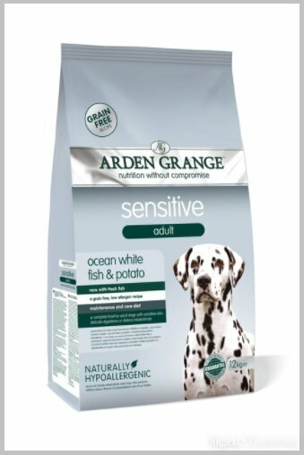 Arden Grange GF Sensitive сухой корм для собак 12 кг. по цене 6130₽ - Корма , фото 0