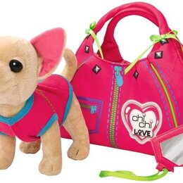 Мягкие игрушки - Собачка Chi Chi Love Чичилав в сумке, 0