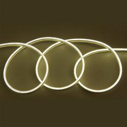 Светодиодные ленты - Гибкий неон 12в теплый белый, 0