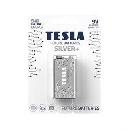 Батарейки - Батарейки Tesla SILVER 9V+1ks Alkaline 9V (6LR61, , 0