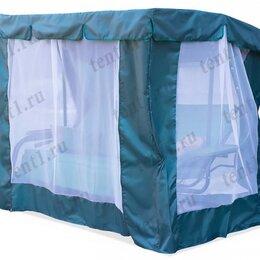 Садовые качели - Тент-шатер для садовых качелей с прямой крышей, 0