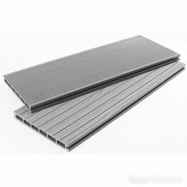 Террасная доска ДПК - DP Standart+ Серый по цене 349₽ - Пиломатериалы, фото 0