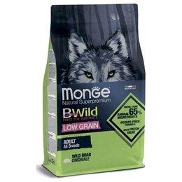 Корма  - Сухой корм Monge BWild Dog Low Grain Wild Boar…, 0