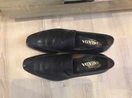 Туфли - Туфли лоферы б/у Prada оригинал размер 8 или 42, 0