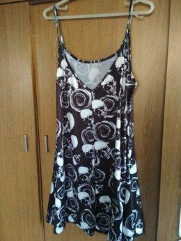 Платья - Платье-комбинация с черепами, 0