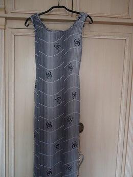 Платья - Летнее платье с принтом Chanel, 0
