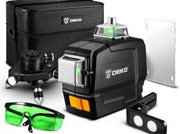 Измерительные инструменты и приборы - Зеленый 3D Лазерный уровень 12 линий, 0