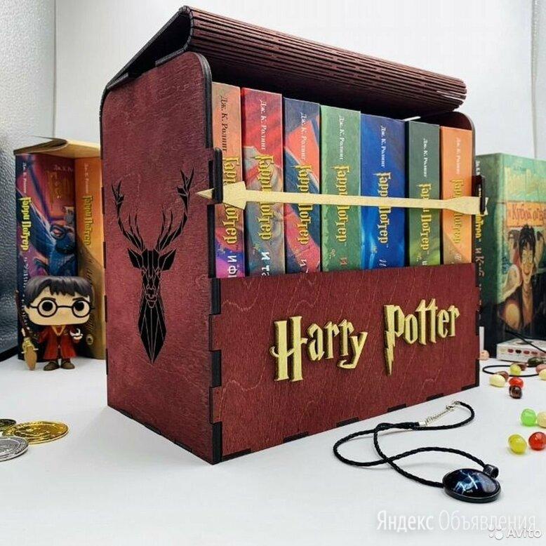 Книги Гарри Поттер в деревянном кейсе по цене 6490₽ - Художественная литература, фото 0