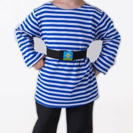 Футболки и майки - Детский костюм десантника с беретом ВК-61042, 0