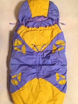 Комбинезоны - Зимний спальный конверт в коляску 0-12 мес, 0