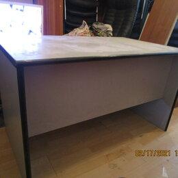 Компьютерные и письменные столы - Стол синесерый, 0