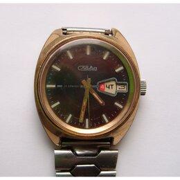 Наручные часы - Часы СЛАВА 735275 Au10 26 камней наручные…, 0