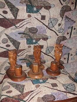 Статуэтки и фигурки - Художественная резьба по дереву., 0