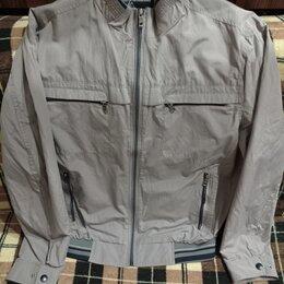 Куртки - Куртка мужская, летняя, серая, 54 размер, 0