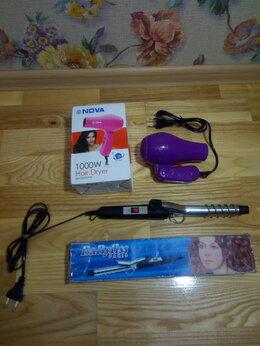 Фены и фен-щётки - Супер фен новый мини NOVA NV-838 подарок плойка, 0