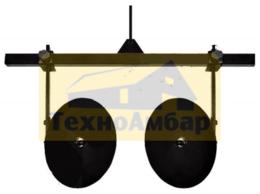 Мотоблоки и культиваторы - Окучник дисковый HUTER, 0