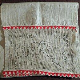 Полотенца - Рушник льняной домотканый. 1930 - е годы, 0