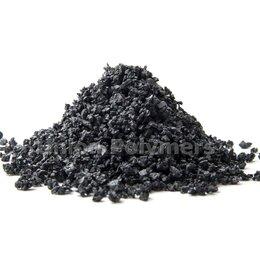 Садовые дорожки и покрытия - Темно серая резиновая крошка, 0